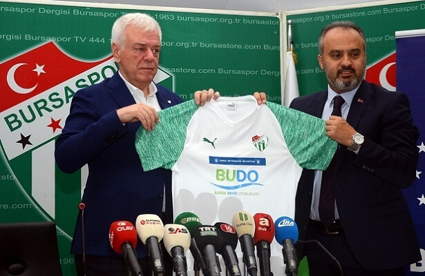 Bursaspor and Budo announce sponsor deal
