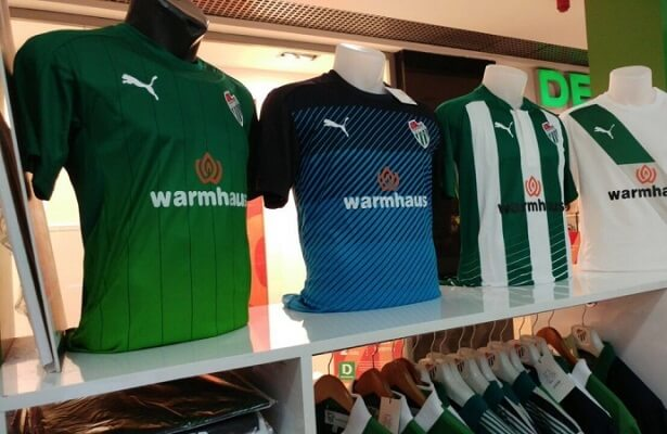 Bursaspor suffer low merchandise shirt sales