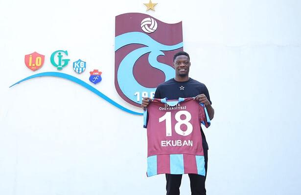Trabzonspor complete Caleb Ekuban transfer