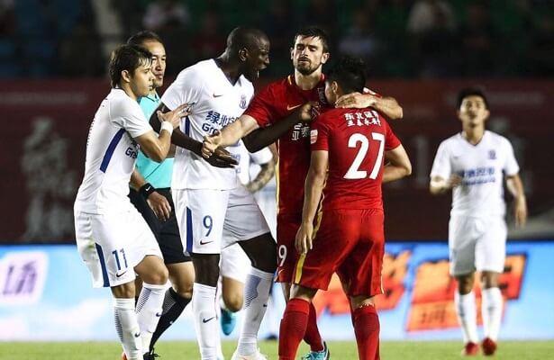 ex-Besiktas striker Demba Ba racially abused in China