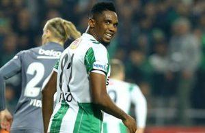 eto'o wants to remain in Turkey, in talks with Bursaspor