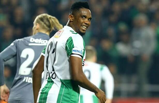 eto'o wants to remain in Turkey, in talks with Bursaspor