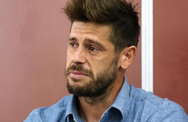 Fabri breaks down in tears during emotional farewell