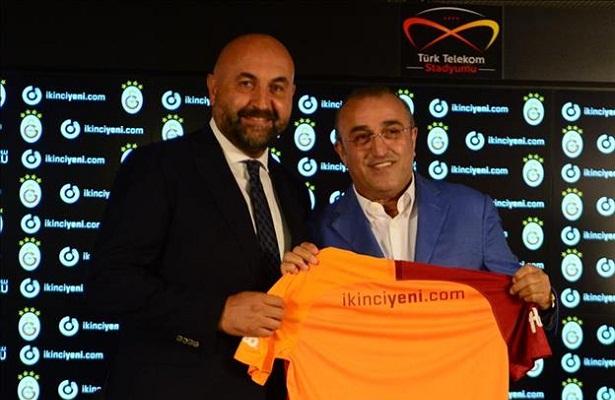 ikinciyeni.com and galatasaray signs new shirt sponsorship deal