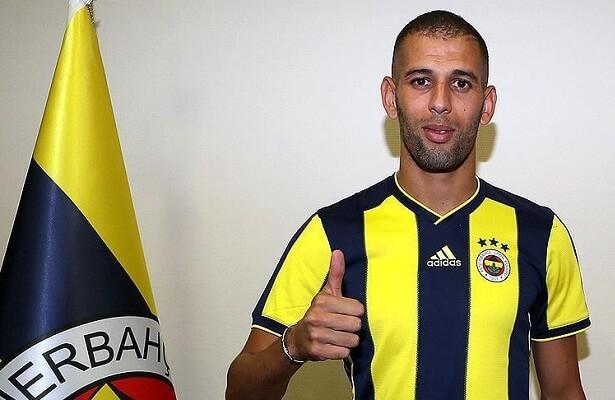 Islam Slimani joins Fenerbahce on loan
