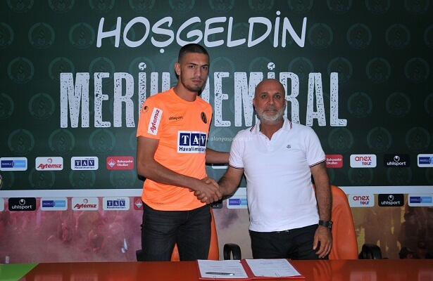Alanyaspor loan Merih Demiral from Sporting CP