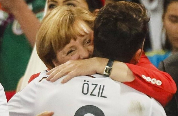 Ozil's racism complaints need to be taken seriously - Merkel