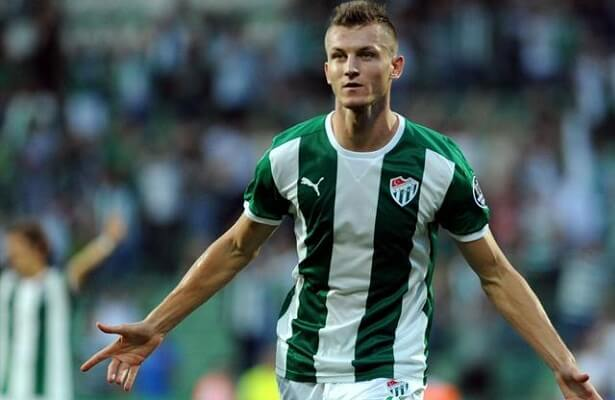 Bursaspor terminate Tomas Necid's contract