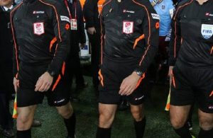 List of Turkish referees for first week of Super Lig