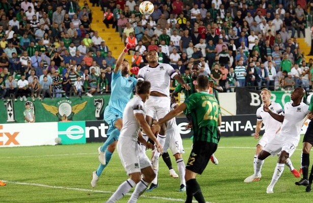 Akhisarspor lost against Krasnodar