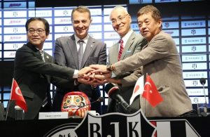 Japanese news group Mainichi group signs deal with Besiktas