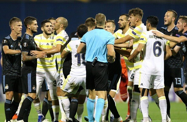 Fenerbahce suffered a heavy defeat in Zagreb