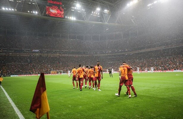 Galatasaray victorious at Turk Telekom Stadium against Kasimpasa