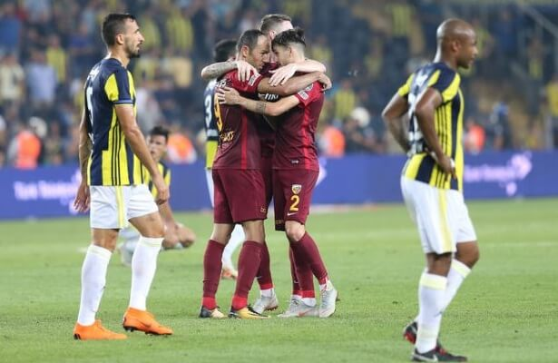 Kayserispor received 2.2 million bonus for defeating Fenerbahce 3-2 in Istanbul