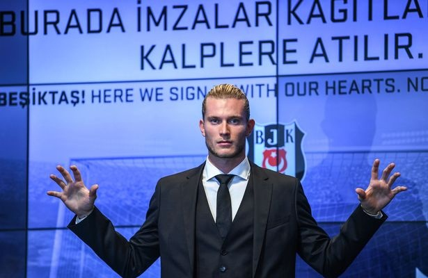 image rights of Loris Karius signed by Besiktas