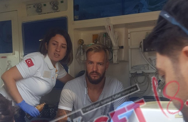 Antalyaspor's Ruud Boffin involved in traffic accident