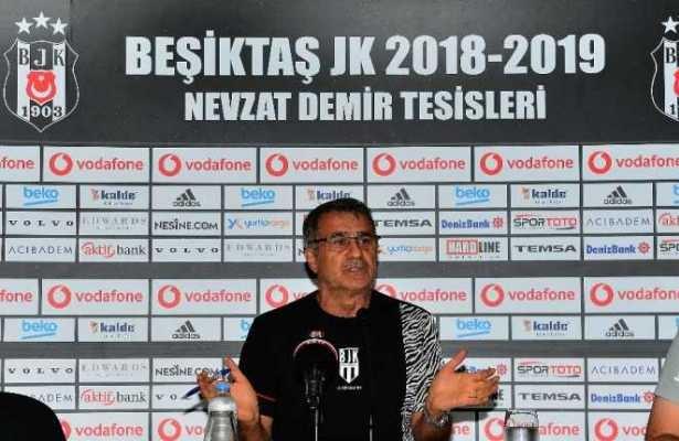 Senol Gunes holds press conference