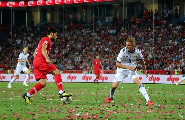 Russia defeats Turkey 2-1 in Nations League