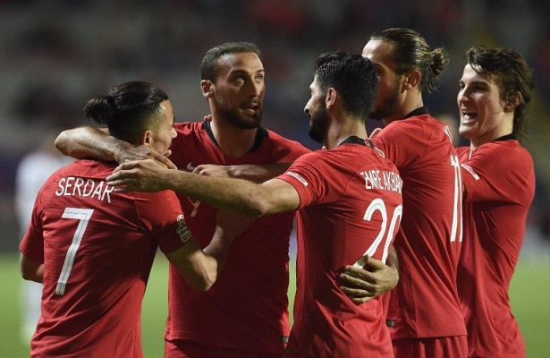 Turkey squad for Nations League announced