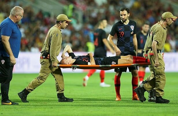 Besiktas defender Vida injured