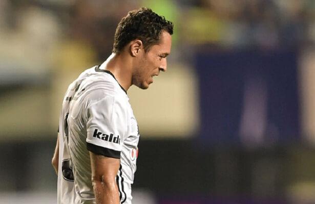 Besiktas Adriano Correia out injured