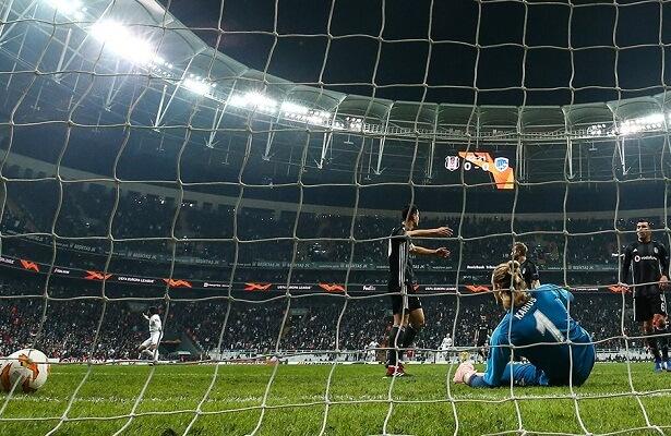 Besiktas lose 4-2 to Genk in Europa League