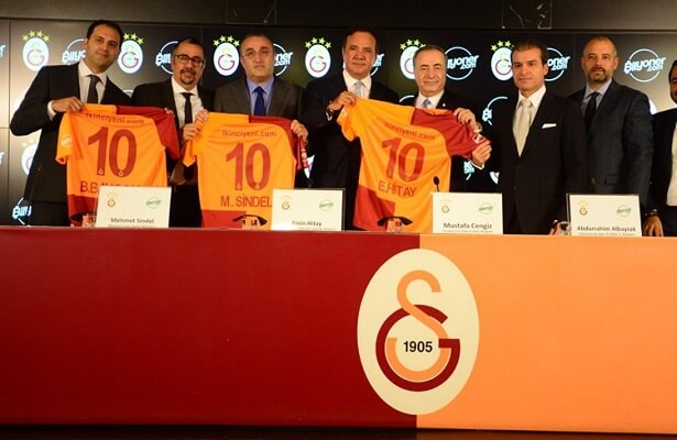 Galatasaray inks sponsor deal with bilyoner.com