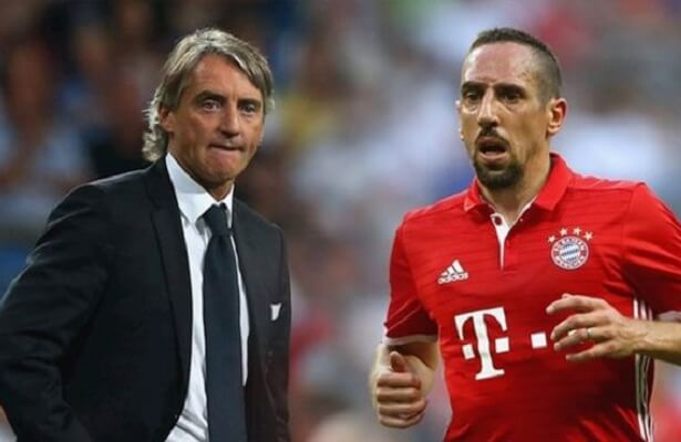 GS birthday wishes from Ribery and Mancini