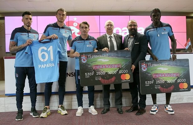 Trabzonspor signs new sponsorship with Papara