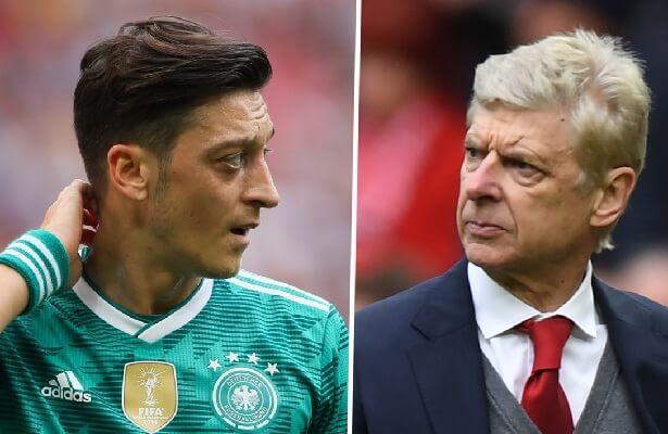 Germany needs Ozil, says Arsene Wenger