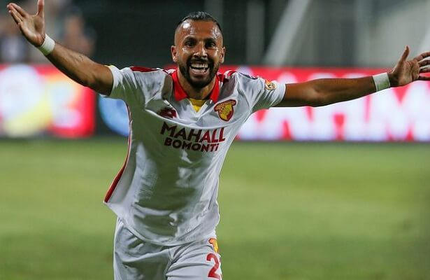 Goztepe midfielder Yasin Oztekin