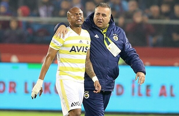 Andre Ayew injured, out for 3 weeks
