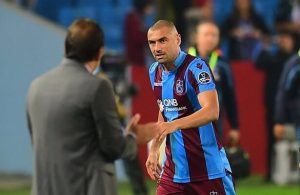 Trabzonspor suspend Burak Yilmaz