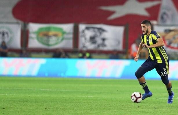 Yassine Benzia removed by Fenerbahce's Koeman