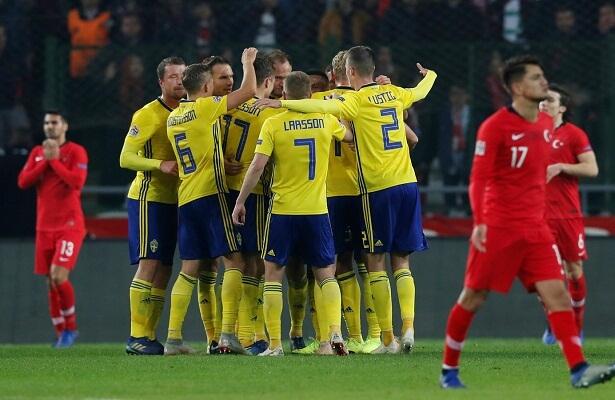 Turkey relegated after Sweden loss