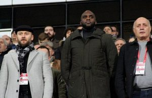 Ex-PSG star Mohamed Sissoko attends 1.Lig game