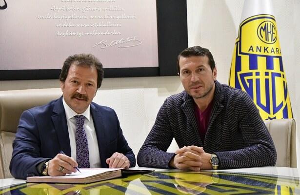 Bayram Bektas appointed Ankaragucu manager