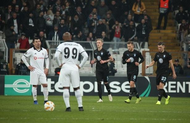 Besiktas eliminated from Europe League