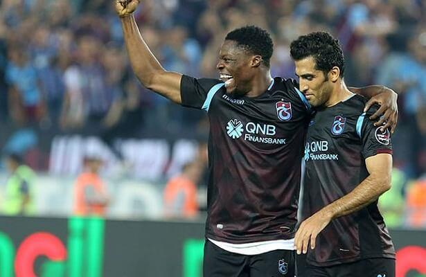 Trabzonspor Caleb Ekuban. Wanted on permanent deal