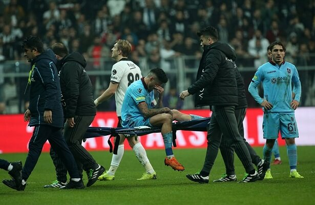 Trabzonspor Jose Sosa, Toure out for weeks