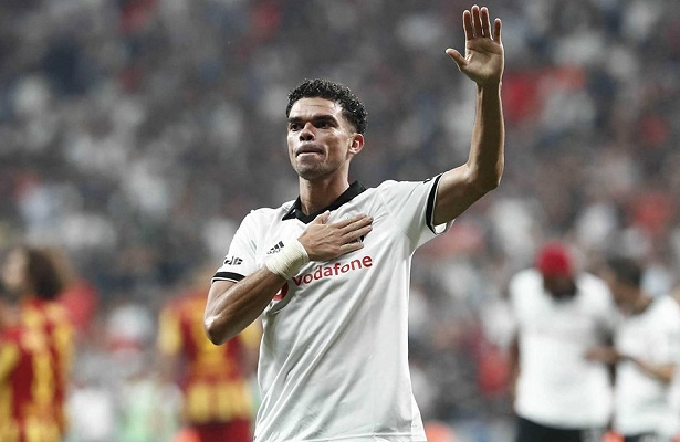 Pepe leaves Besiktas