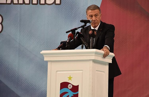 Ahmet Agaoglu re-elected as Trabzonspor president