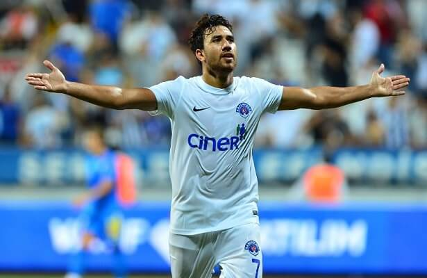 kasimpasa trezeguet; the egyptian is back in the squad