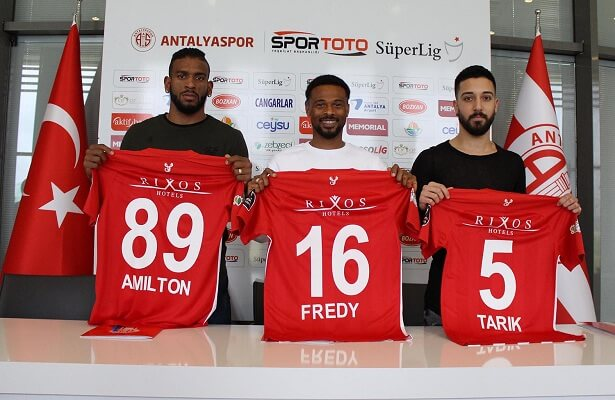 Antalyaspor sign 3 players on deadline day Alfredo Kulembe Ribeiro