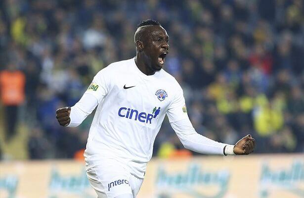 Kasimpasa striker Mbaye Diagne banned for 4 games