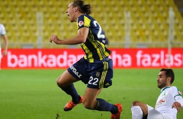 Fenerbahce striker Michael Frey injured, out for a month