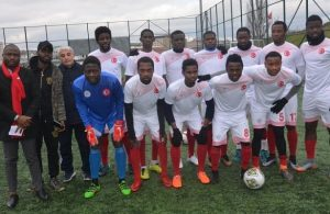 African players; Istanbul African migrants hopes of turning pro become reality
