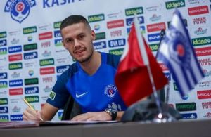 Kasimpasa sign Bosnian midfielder Hajradinovic