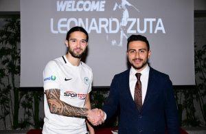 Konyaspor sign Macedonian left-back Leonard Zuta