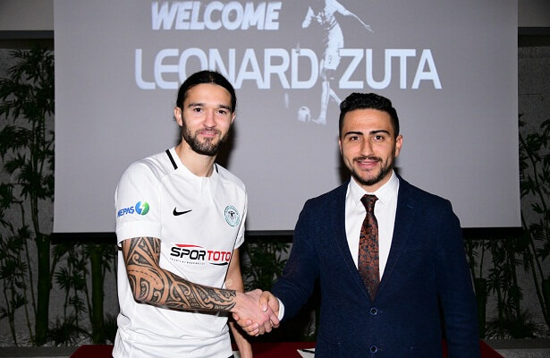 Konyaspor sign Macedonian left-back Leonard Zuta